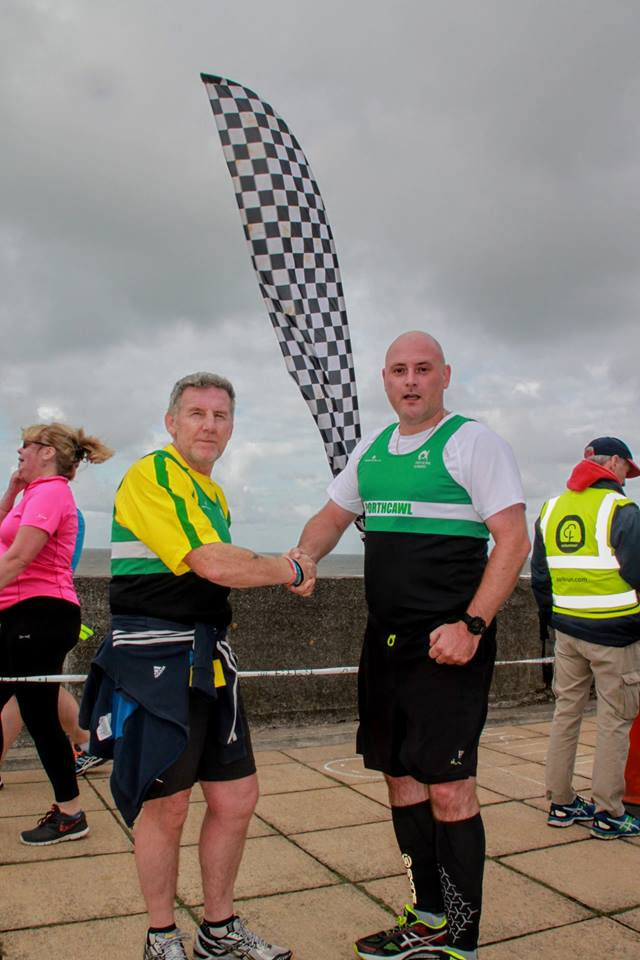 Mike Taxi 200th Parkrun