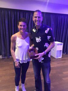 Deb and Dave award